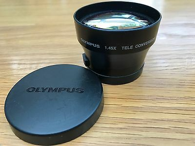 OLYMPUS DIGITAL CAMERA: 1.45X  TELE CONVERSION LENS 46mm  added attachment ring