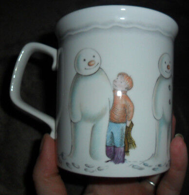 Royal Doulton build a snowman large mug in perfect condition