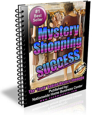 Mystery Shopping Success Pdf Ebook Free Shipping Resale Rights