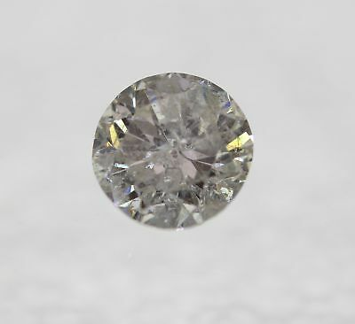 0.30 Carat D Color Round Brilliant Natural Loose Diamond For Jewelry 4.4mm