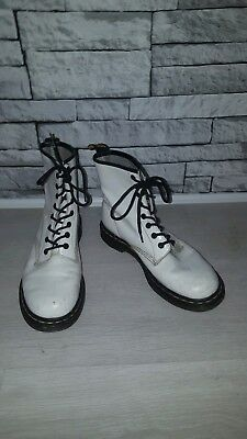 DR. MARTENS LES FLEECE  FUR GREY BOOTS SIZE UK 7 Eu 41 New - EUR 72 ... 2ccff8fef8a8