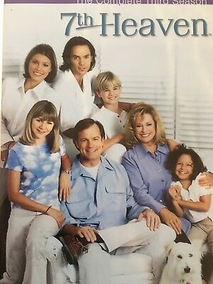 7th HEAVEN - Season 3 5 x DVD Set AS NEW! Complete Third Series Three REGION 1