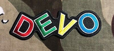 Devo Logo Embroidered Patch D018P