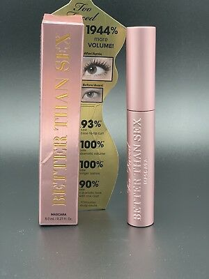 Too Faced Better Than Mascara 100% (NEW IN BOX)