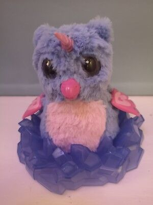 hatchimal  hardly used without egg. owlicorn excellent condition. With stand.