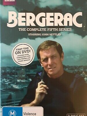 BERGERAC - Season 5 3 x DVD Set BRAND NEW! Complete Fifth Series Five