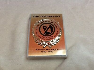 94th infantry Division 50th Anniversary Plaque