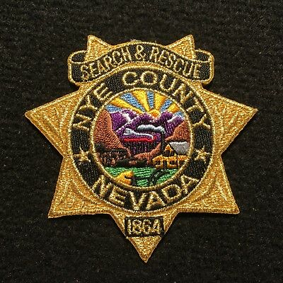 Nevada - Nye County Sheriff's Office Patch / SEARCH & RESCUE