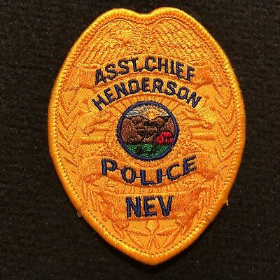 Nevada - Henderson Police Department Patch ASST. CHIEF