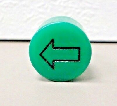 Peterbilt Dashboard Indicator Lens GREEN TURN ARROW  9/16-27 Thread