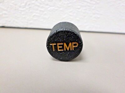Peterbilt Dashboard Indicator Lens TEMP Temperature  9/16-27 Thread