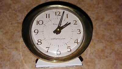 Vintage Westclox Baby Ben alarm clock tested and working American made