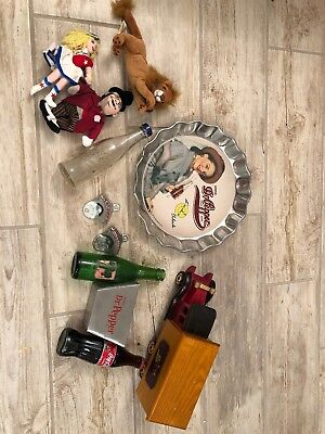 Lot Of Dr Pepper And Sode Memorbilia