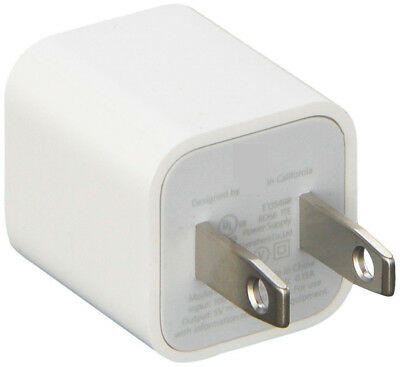New 5W USB Power Adapter Charger Wall Plug for Apple iPhone 6 6S 7 8 Plus X iPod