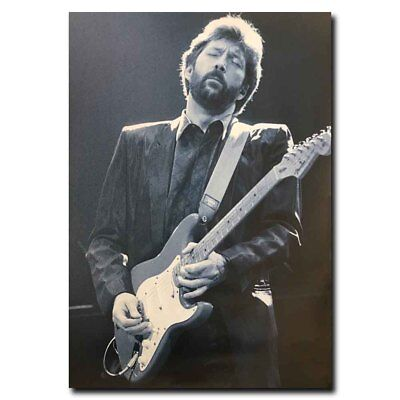 Eric Clapton Guitar In Live 24x36inch Silk Poster Wall Decoration Cool Gifts
