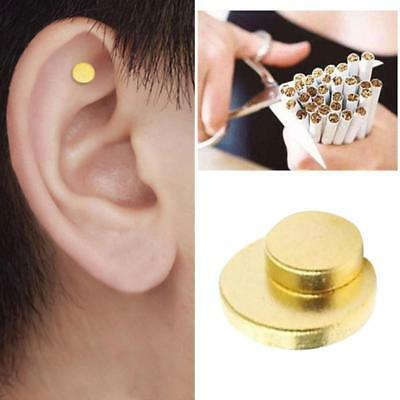 1pc Magnet Auricular Quit Smoking Acupressure Patch No Cigarettes Health Therapy