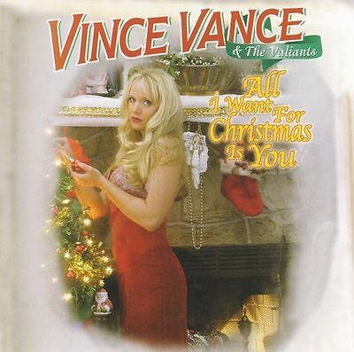 VINCE VANCE **All I Want for Christmas Is You **BRAND NEW CD