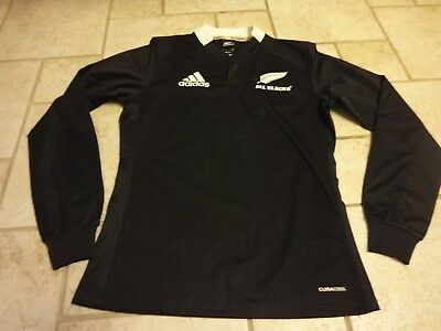 40aa7c624ac 2012 Adidas New Zealand All Blacks Rugby Climacool LS Jersey Mens Small nice