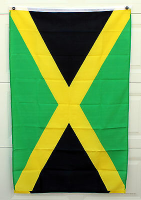 3'x5' Jamaica Flag with metal grommets - New Condition