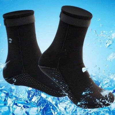 Pair Neoprene Diving Divers Scuba Surfing Snorkeling Swimming Socks Boots Unisex