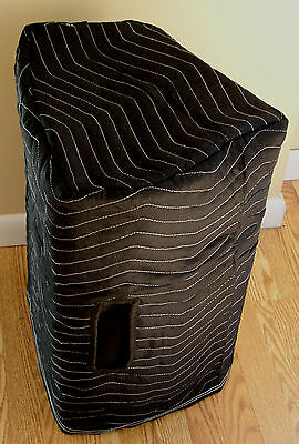 Behringer F1320D F1220A Padded Black Speaker Covers - (2)  Qty of 1 = 1 Pair!
