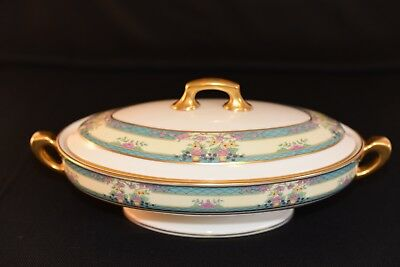 Lenox China Monticello Covered Oval 12 inch serving bowl