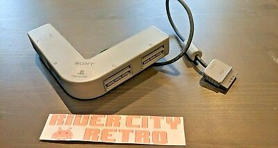 Original Official Sony Playstation 1 (PS1) MultiTap Controller Adapter SCPH-1070