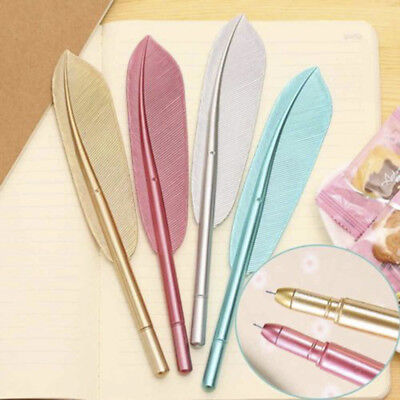 Feather Gel Cute Pens 0.38mm School Office Creative Writing Stationery Gifts New