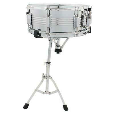 Snare Drum Stand - Heavy Duty Hardware Percussion Mount Adapter Tripod