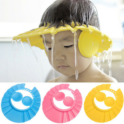 1pc New Protect Ear Kids Baby Ear Shield Adjustable Hat Hair Shield Bathing