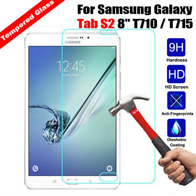 For Samsung Galaxy Tab 4/3 A A2 S S2 S3 S4 Tempered Glass Film Screen Protector