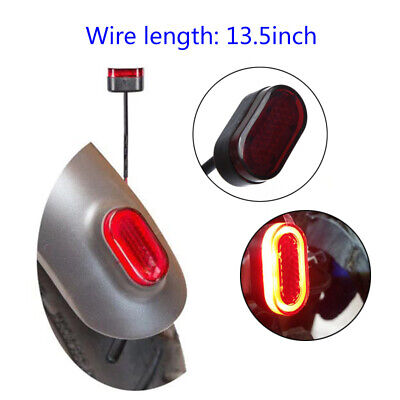 LED Tail Rear Light Safety Lamp Bright For Xiaomi Mijia M365 Electric Scooter H1