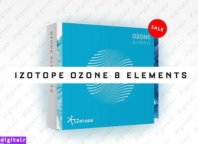 iZotope OZONE 8 Elements Plugin (VST/AU/AAX) Mac/Win Instant eDelivery Serial