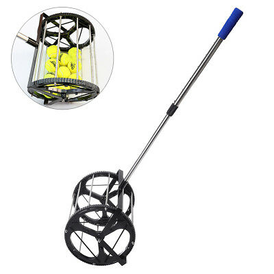 Tennis Ball Picker Hopper Mower Collector for 55 Tennis balls