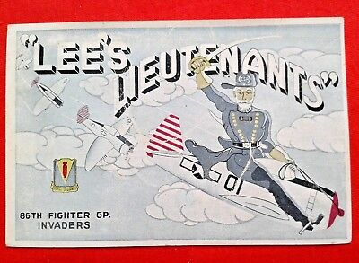 "CPA Militaire ""Lee's Lieutenants"" 86TH Fighter GP."
