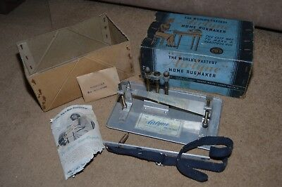 Vintage AIRLINE 1940s Home Rugmaker rugmaking equipment tool
