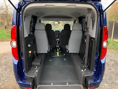 2014 Fiat Doblo 1.4 16V MyLife 5dr WHEELCHAIR ACCESSIBLE VEHICLE 5 door Wheel...