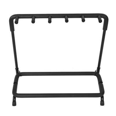 Guitar Stand 5 Holder Guitar Folding Rack Stand Stage Bass Acoustic Guitar US