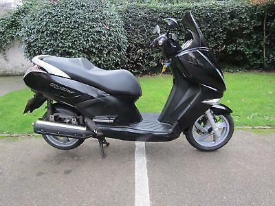 2012 Peugeot Citystar 125 Commuter Learner Twist And Go Scooter
