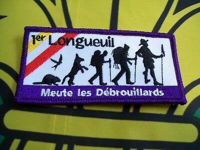Canadian Scout Badge 1er Longueuil