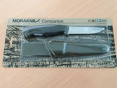 Morakniv Companion Heavy Duty Knife with Sandvik Carbon Steel Blade, 0.125/4.1-I