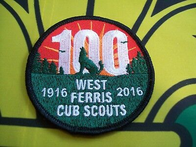 Canadian Scout Badge West Ferris Cub Scouts 100 Years