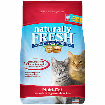 Eco-Shell Naturally Fresh Multi-Cat Quick-Clumping Formula Cat Litter