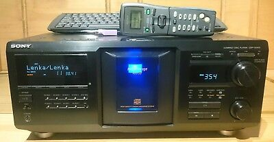 Sony Cdp-cx455 CD Changer Jukebox