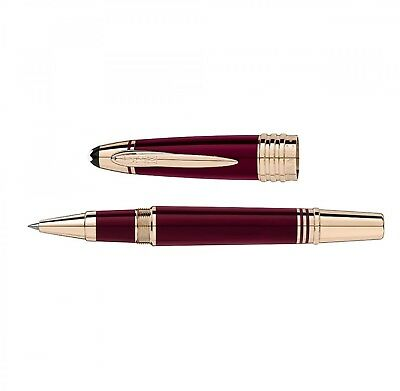 Montblanc John F. Kennedy Special Edition Burgundy Rollerball Pen 118082 NEW JFK