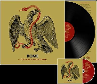 ROME Le Ceneri di Heliodoro (US Edition) LP VINYL+CD 2019 LTD.500
