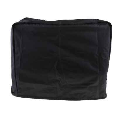 Waterproof Boat Outboard Motor Cover for 40 HP Waterproof 62x30.5x61cm Black