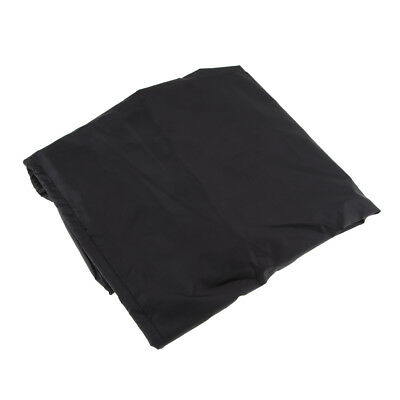 Waterproof Boat Outboard Motor Cover Fits 10 HP Waterproof 50x29x45cm Black
