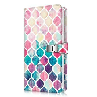 Fintie Wallet Photo Album For  Instax - 108 Pockets [Snap Fastener] Photo Album
