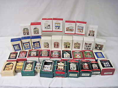 Hallmark 1984 -2018 Nostalgic Houses and Shops Complete Series 1-35 in Boxes